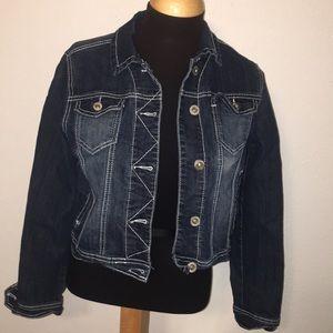 Maurice's Jean Jacket size Medium